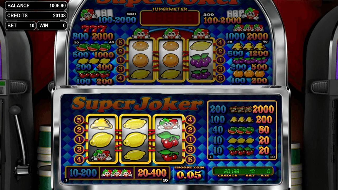 Super joker супер джокер игровой автомат 1000